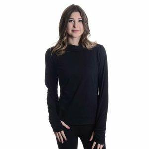 NWT Fila Women's Black Hoodie Size XL